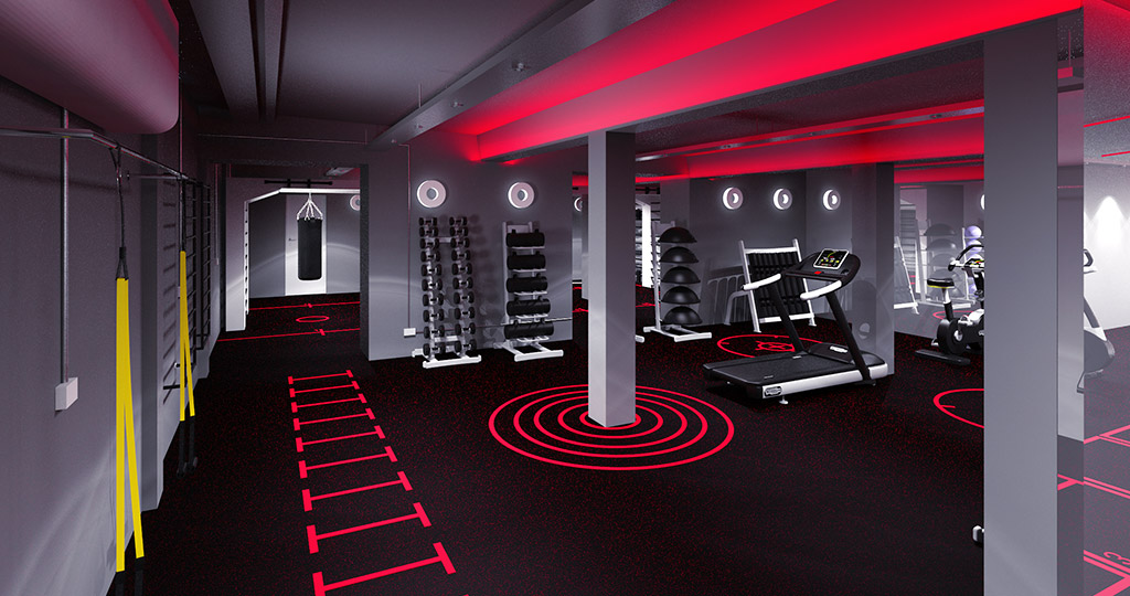 HIIT Training Studio Design