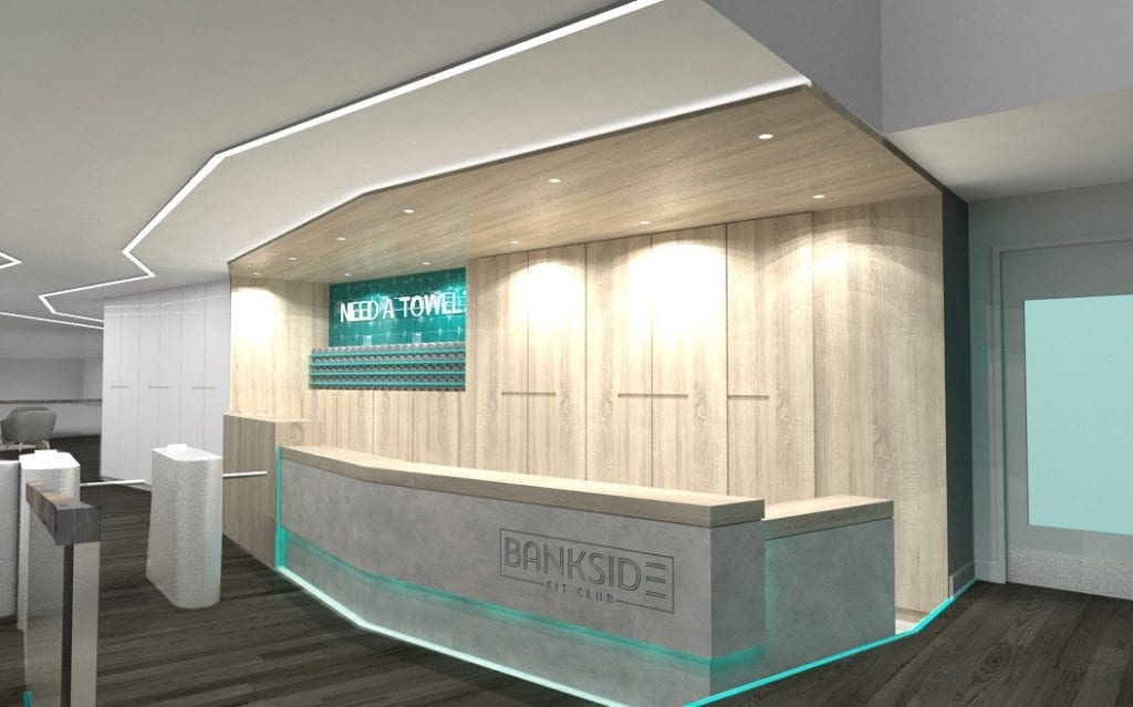 Bankside Gym Design by zynk Design