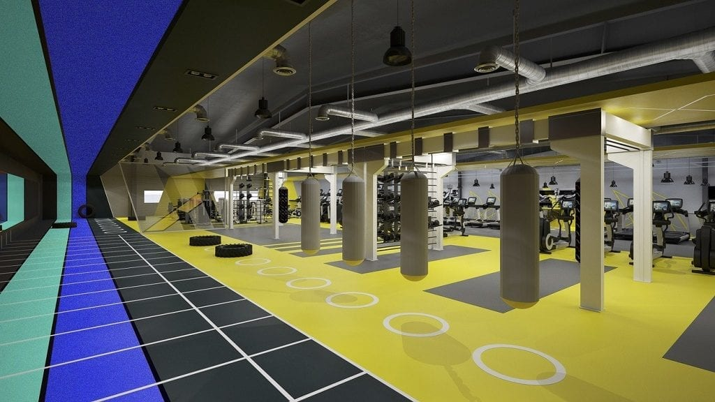 Horizon Fitness Oman designed by zynk Design