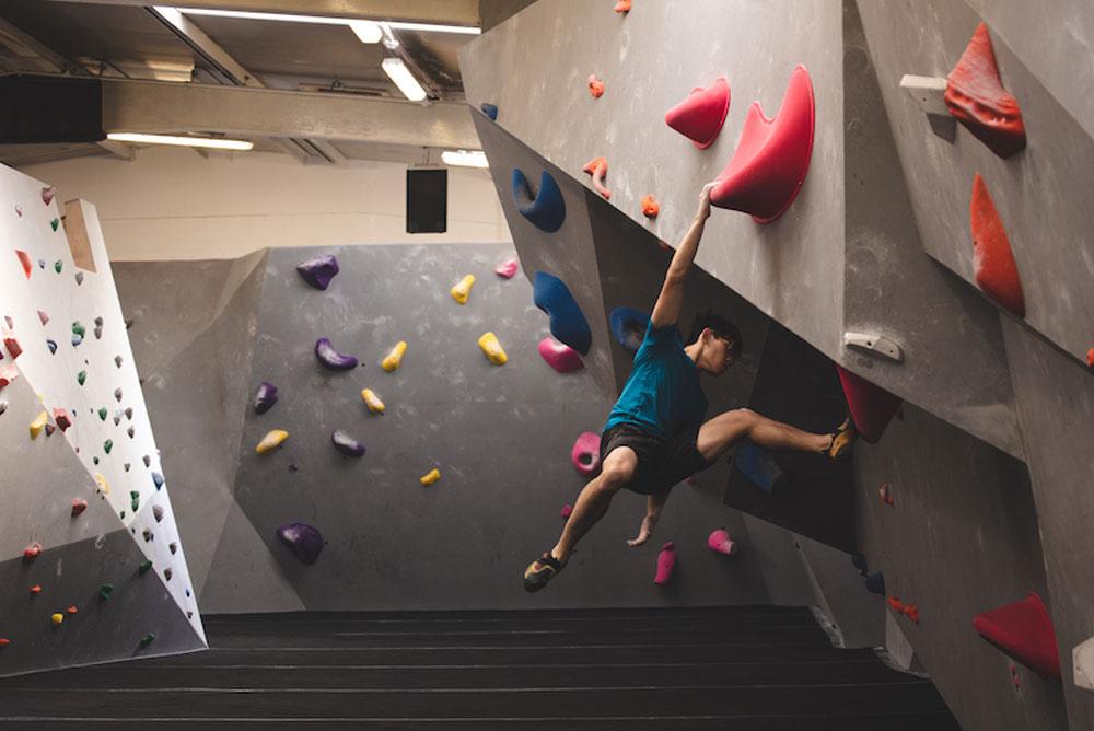 Bouldering venue design