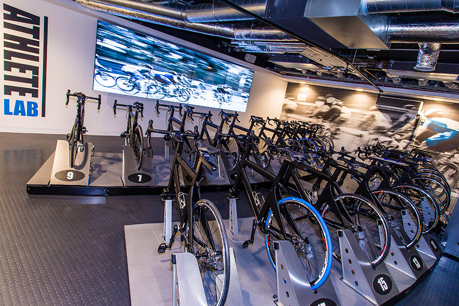 Athlete Lab Cycling studio