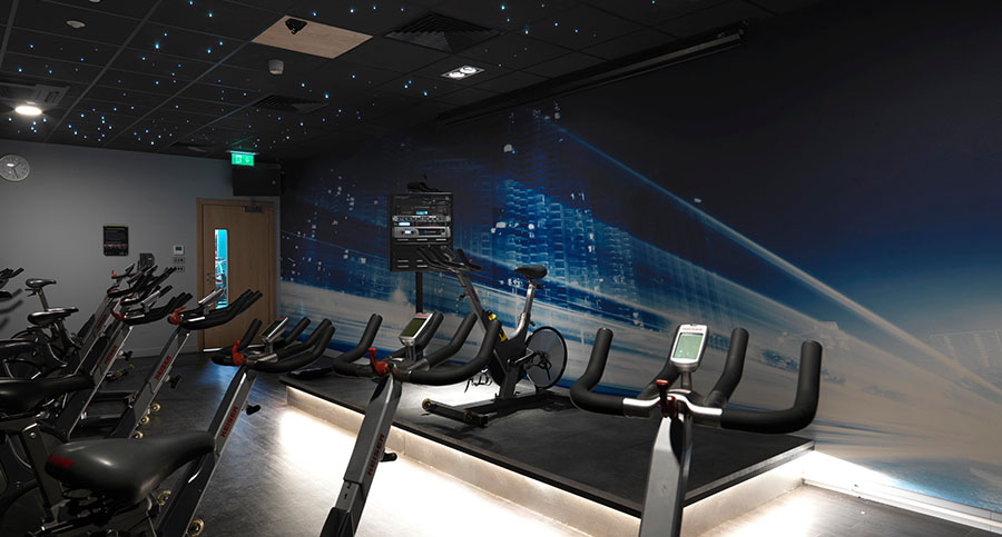 Fitness Centre, Health Club, Gym Hiit & Spinning Studio Interior Design & Fit Out Consultants