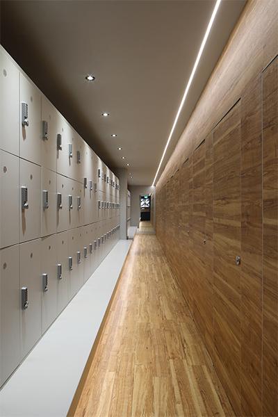 Boutique Hiit Studio Changing Room Interior Design & Architecture