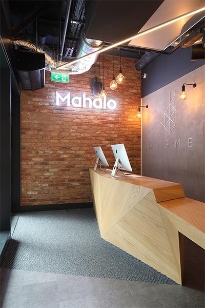 Boutique Spinning Studio Reception Interior Design
