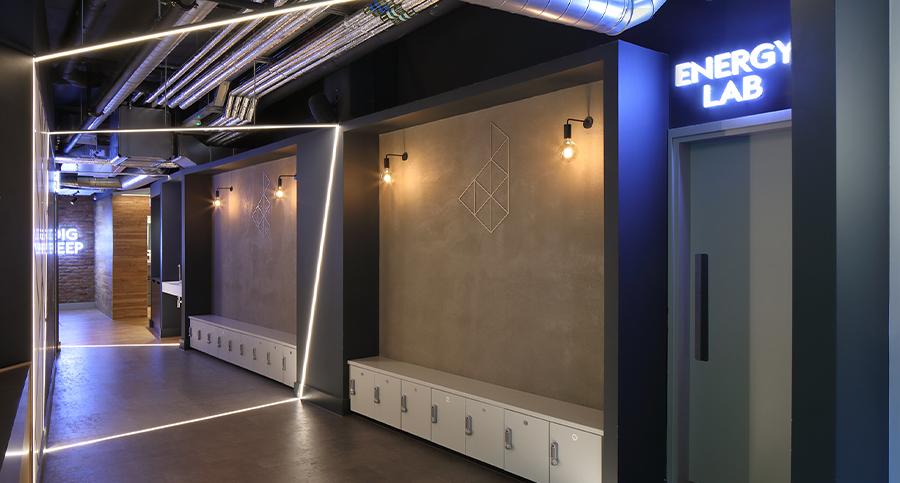 Boutique Spinning Studio Interior Design & Architecture