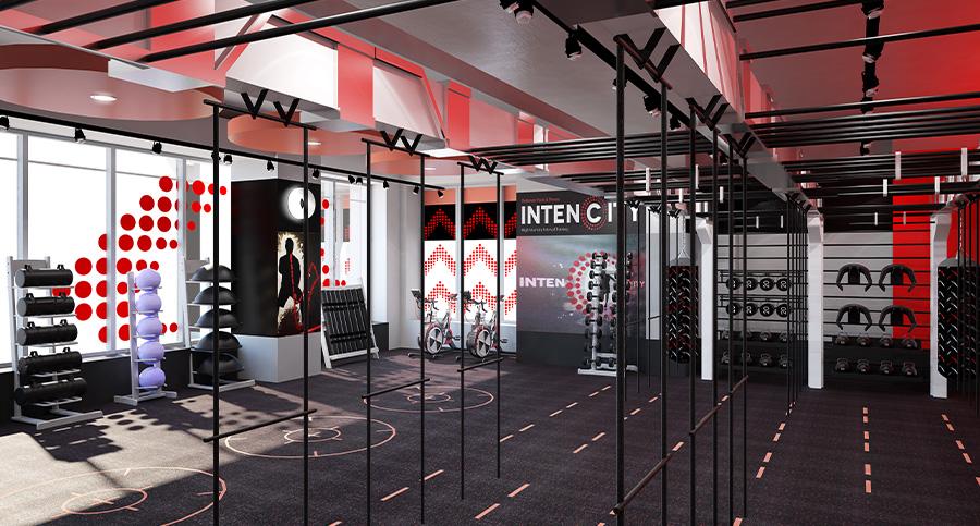 Fusion Lifestyle hiit studio interior design