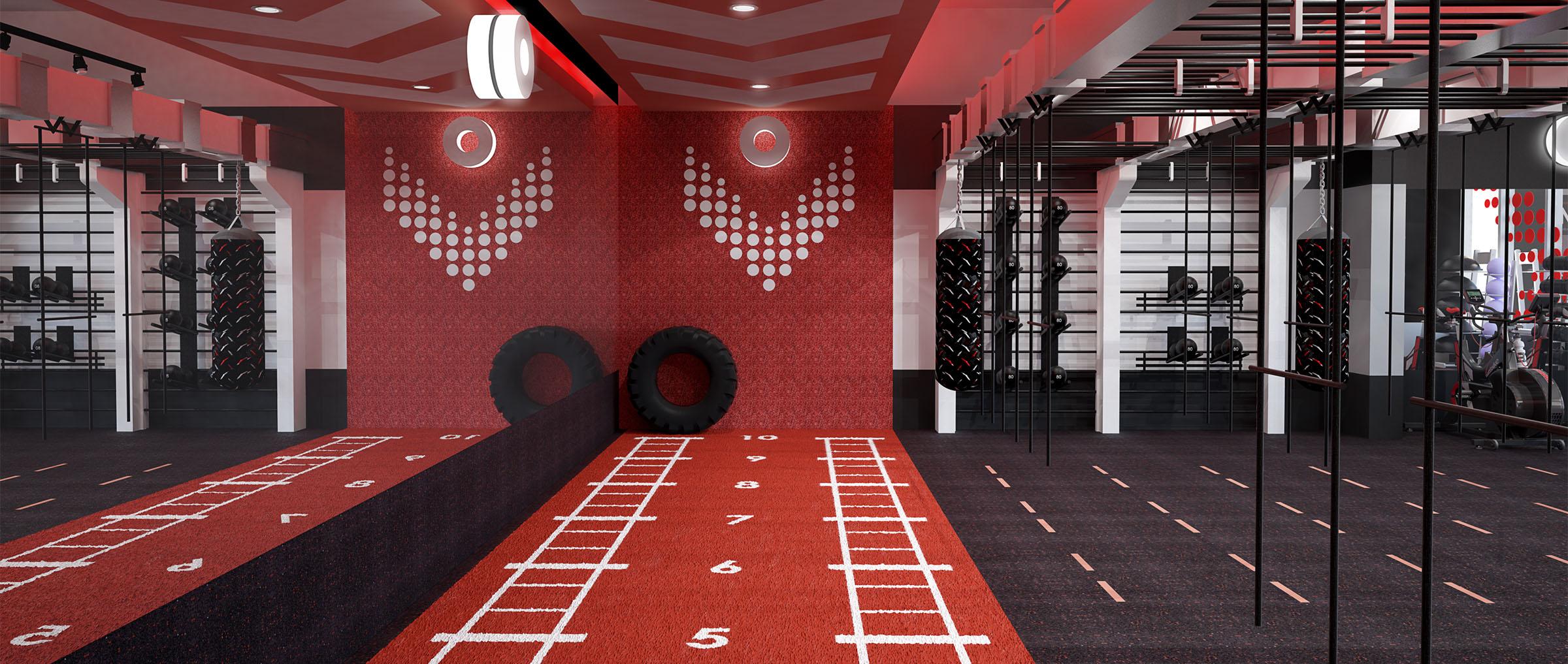 Lifestyle Gym Interior Designer