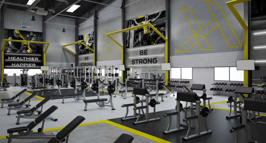 Gym, Fitness Centre & Health Club Interior Designers & Architects