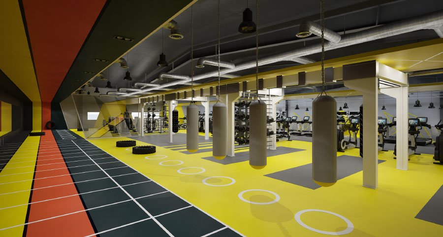 Gym, Fitness Centre & Health Club Architecture