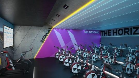Gym, Fitness Centre & Health Club Spinning Studio Interior Designers & Architects