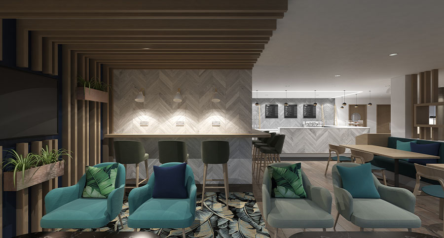 Fitness Centre & Health Club Cafe Interior Design & Architecture Consultants