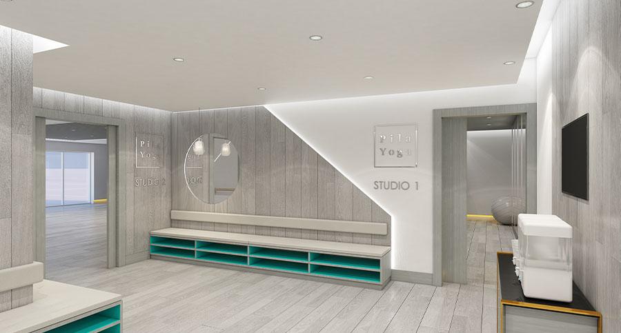 Fitness Centre & Health Club Yoga Studio Interior Designers