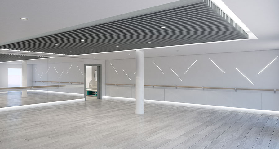 Fitness Centre & Health Club Yoga Studio Architects