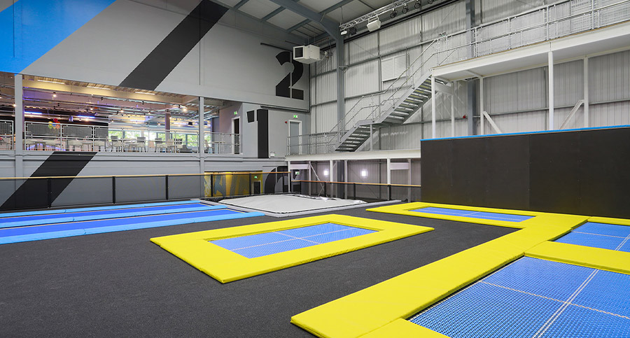 Trampoline & Fitness Interior Design
