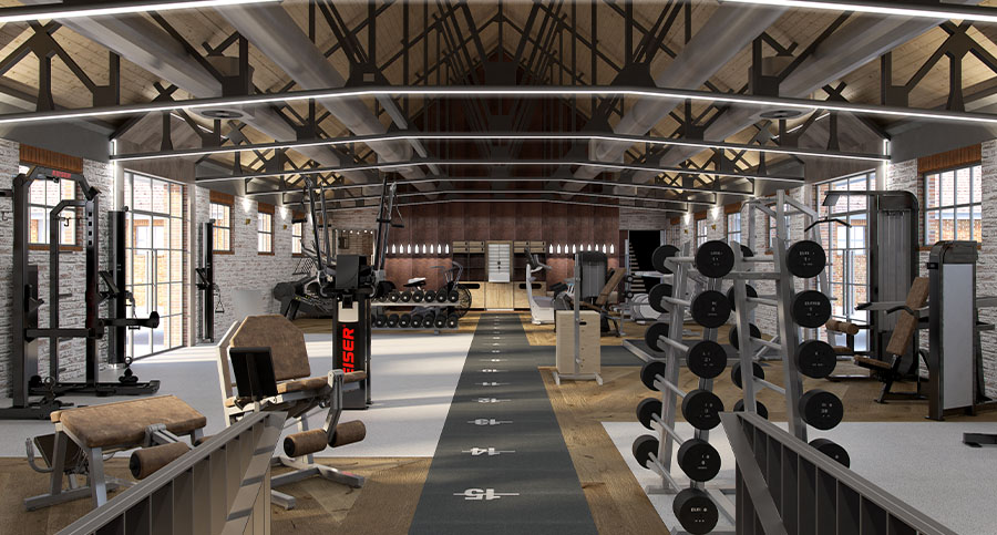 The Dairy Gym Interior Design