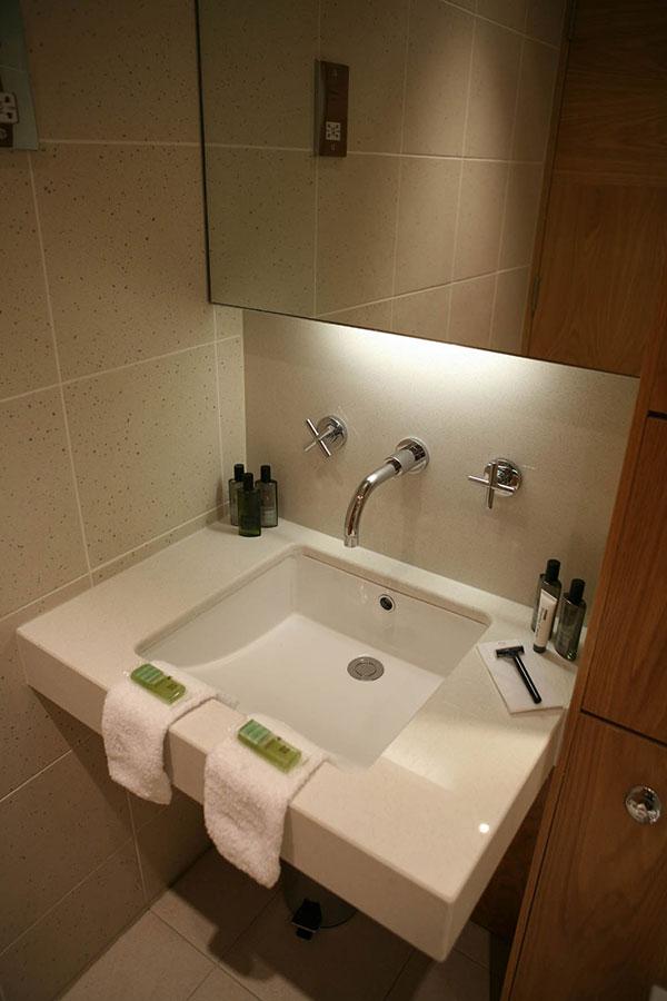 hotel interior bathroom sink