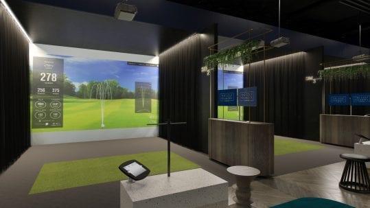 Indoor Golf concept design